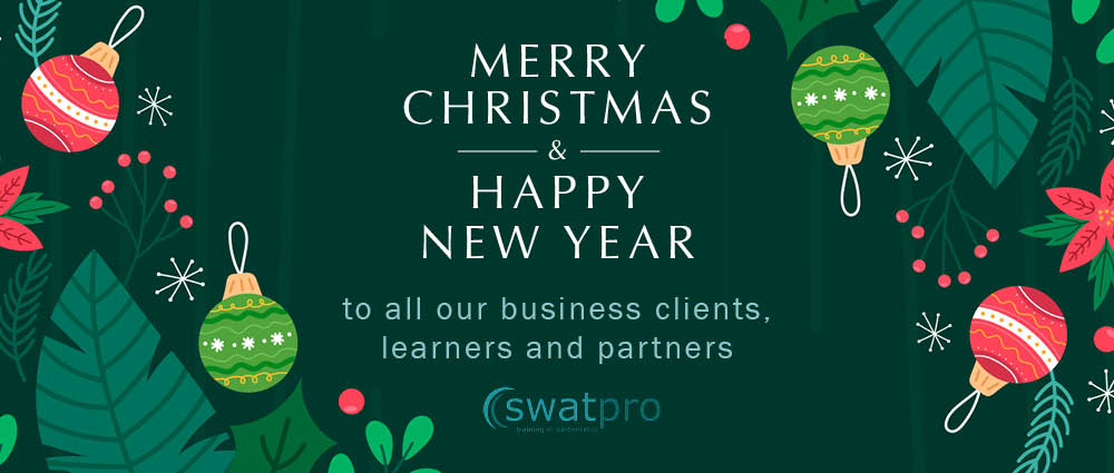 Seasonal best wishes from Swatpro – what a year it has been!